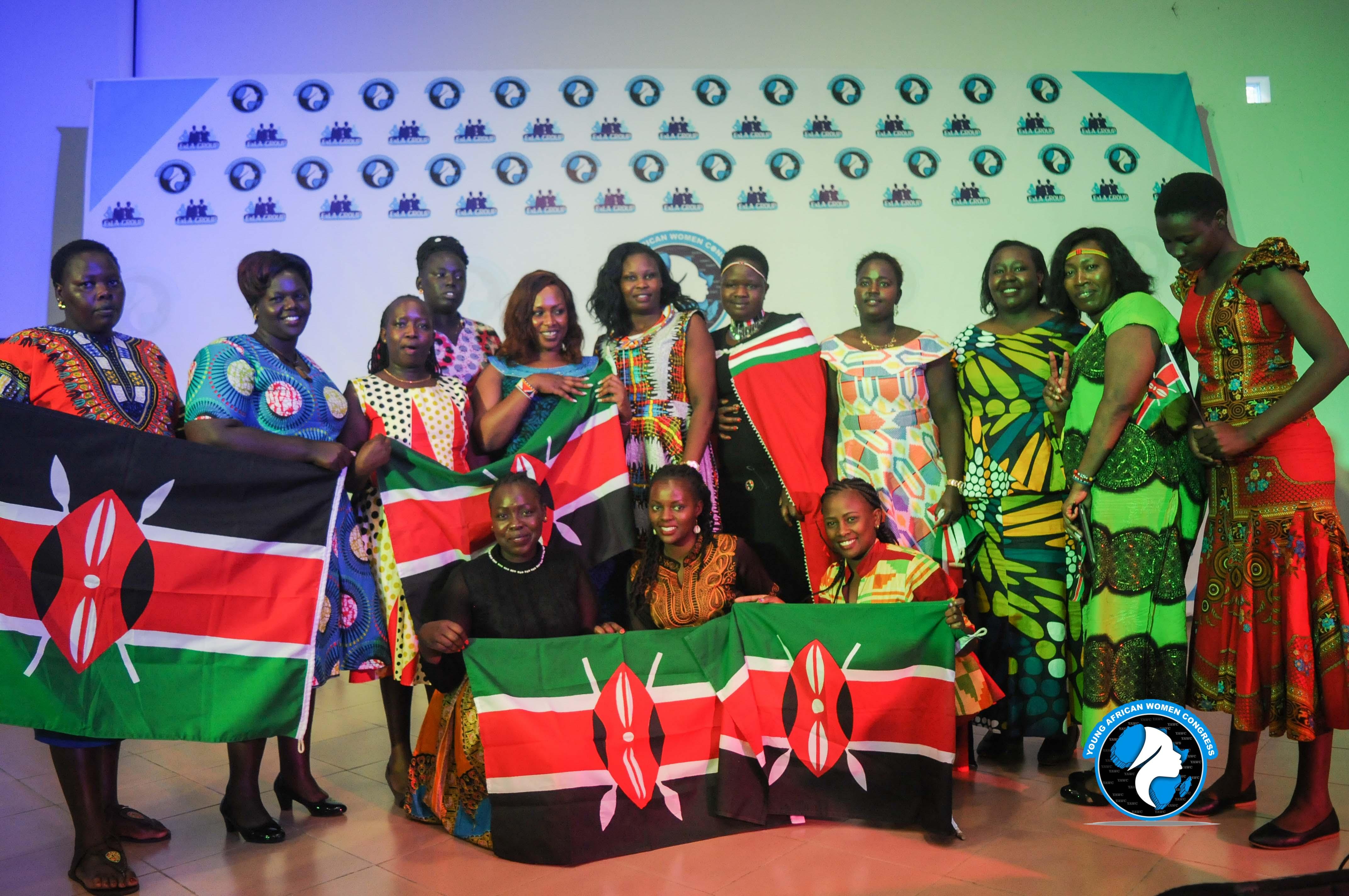 A section of Kenyan Delegation