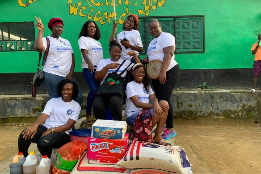 YAWC Network Liberia Chapter held a day-long Christmas Outreach