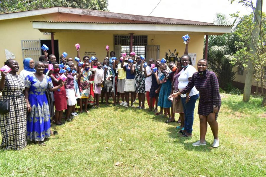 YAWC Network Uganda Chapter Undertakes a Career Guidance Session and Donation Exercise in A School in Uganda